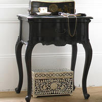 Sassy Boo Black Bedside Table