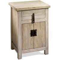 Chinese Country Bedside Cabinet
