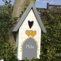 Handmade Heart Bird Box