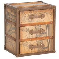 Explorer 3 Drawer Trunk Chest