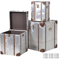 Space Industrial Cube Trunk Storage Chests