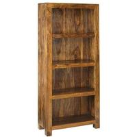 Cube Sheesham Bookcase - Large