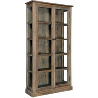 Reclaimed Timber Double Door Vitrine