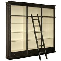 Black Fayence Library Bookcase