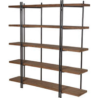 Highbury Industrial Double Shelving Unit