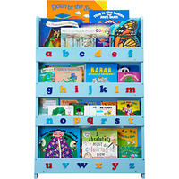 Tidy Books ABC Bookcase Blue