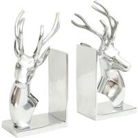 Stag Metal Bookends