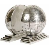 Globe Metal Bookends