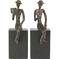 John Lewis Man with Books Bookends