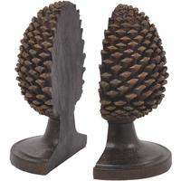 Pine Cone Bookends