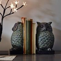 Owl Resin Bookends