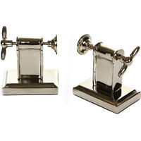 Flamant Home Interiors - Screw Bookends - Set of 2