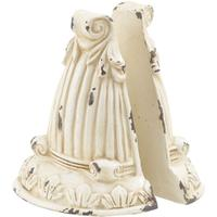 Yasmin Cream Ornate Bookends
