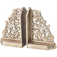 Monte Carlo Bookends in Antique Gold
