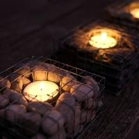 Pebblecube Tealight Holder from Garden Beet