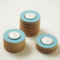 NEW Blue tea light holders