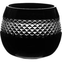 Waterford Crystal John Rocha Black Cut Votive