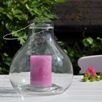 Teardrop Glass Lantern
