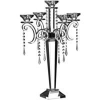 Crystal Candelabra With Droplets