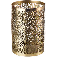 Pols Potten - Pierced Candle Holder - Brass - M