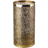 Pols Potten - Pierced Candle Holder - Brass - L