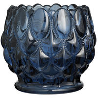 Nordal - Dusty Blue Bubbles Tealight Holder