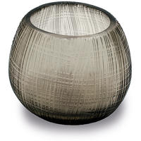Guaxs - Quilotta Tealight Holder - Smoke Grey