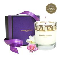 Luxury Rose & Jasmine Scented Candle