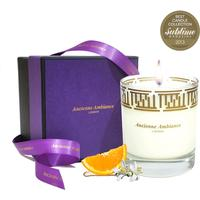 Luxury Orange Blossom Scented Candle