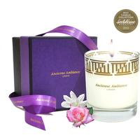 Luxury Rose & Lily Scented Candle