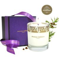Luxury Cedar Scented Candle