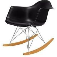 Eames-Style RAR Chair in Black