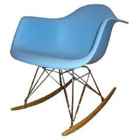 Eames-Style RAR Chair in Blue