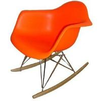 Eames-Style RAR Chair in Orange