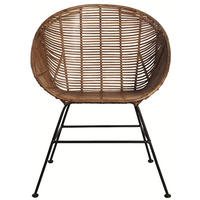 Vintage Retro Rattan Chair