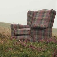 Arran Crimond Heather Tartan Club Chair