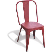 Industrial Vintage Tolix Repro Chair - Red