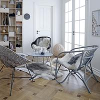 Rattan Chair in Two Colours
