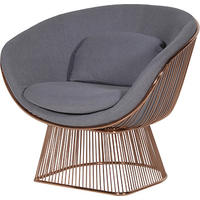 Vogue Copper & Grey Lounge Chair