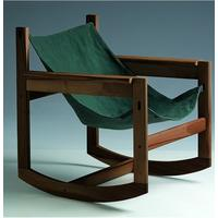 Pelicano rocking chair - Dark Green