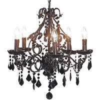 Sexy Rexy Black Chandelier