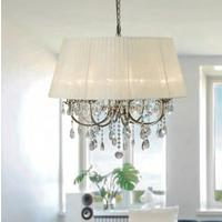 Madmoiselle Cream Shaded Crystal Chandelier