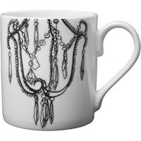 Bone china mug, Decayed glamour collection – Chandelier Design