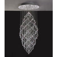 Gabor Floating Crystal Pendant Chandelier