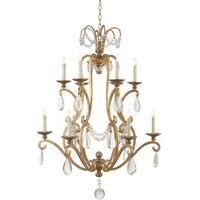 Sophia 2 Tier French Gilded Chandelier