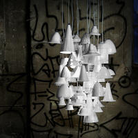 Much Ado White Multi Pendant Chandelier