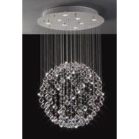 Sparkling Floating Crystal Ball Pendant Chandelier