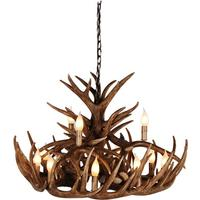 Wilderness 2 Tier Antler Chandelier