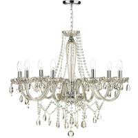 Evangelina 8 Arm Champagne Glass Chandelier
