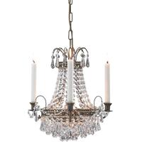 Victoria Crystal Candle Chandelier